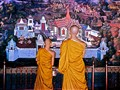 Two monks in Thailand