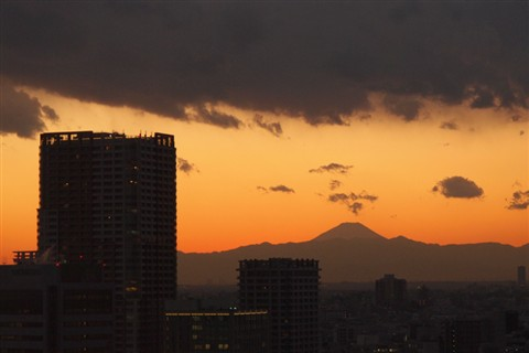 Sunset-over-Mt-Fuji