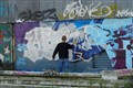 Wall artist - Port of Brest
