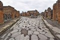 Streets in ancient Pompei