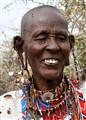 Maasai Woman Ear Ornaments