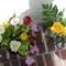 Tulips On Front Steps - Floral Arrangement