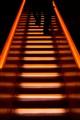 Glowing stairway
