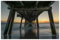 Henley beach jetty at sunset