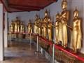 Buddha images in gallery Wat Pho (Bangkok)