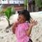 Indigenous girl. Larn Island