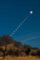 2017 Solar Eclipse over Smith Rock
