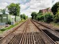 Axminster Railway Tracks