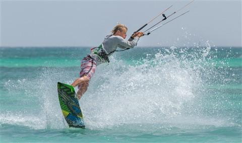 Aruba Kite Surfing - Kitesurfing Aruba 2013