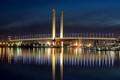 Blue hours Bolte Bridge