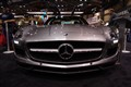 Merc Benz SLS with Gull Wing doors open