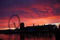 Dawn London Eye