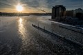 Ice channel, Marievik, Stockholm