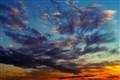Clouds in Magic Light