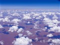 Over central Australia