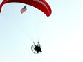 Parachuting in the Wind