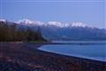 Just before dawn Kaikoura beach