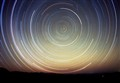 The celestial south pole.