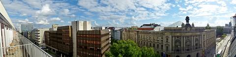 Berlin Skyline from Hotel