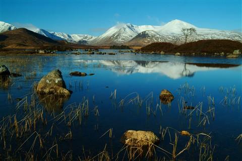 Winter in Glencoe Scotland