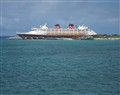 Disney Magic docked Castaway Cay