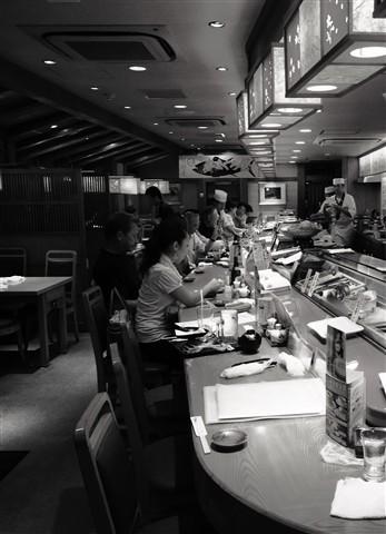 Sushi bar, Osaka