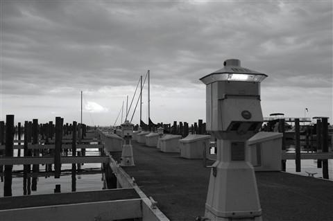 Pier Park Marina at Dusk
