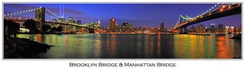 Brooklyn Manhanttan Bridges