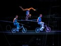 Handstand on Bicycles High Wire.