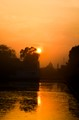 Sunset at New Delhi