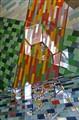 Glass Reflection Mosaic
