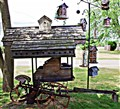 Bird House Cart