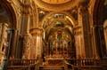 Interior of the Montecassino Monastery, Italy