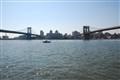 Manhatten Bridge and Brooklyn Bridge
