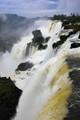 Iguacu falls from Argentina