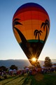 Was a blast catching sunrise from the Ogden Valley Balloon Festival