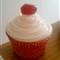 cupcake cherry Vector
