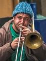 Loud Trombone on Quiet Street