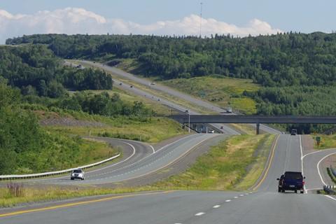 Highway#104 exit 8..Nova Scotia