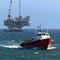 Tug and oil platform