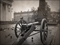 Antique cannon in St. Petersburg