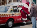 F....orget those reindeer!!! I am taking a Taxi!!!