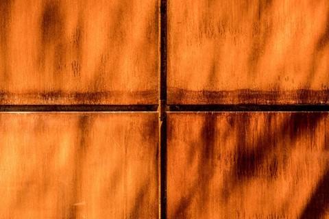 Steel Panels and Cross