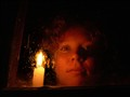 Sara by candle light