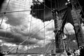 DSC_9926...the partly cloudly and sunny sky over the Brooklyn bridge/nyc...