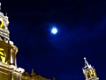 Sky over Arequipa cathedral