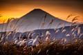 Mount Fuji sunset from Hakone