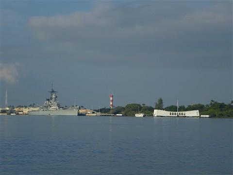 P1010026 USS Missouri & Arizona Memorial at Pearl Harbor