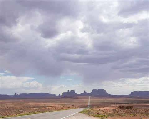 Monument Valley Before