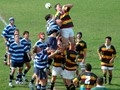 Full colour interschools rugby